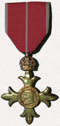 Photograph of the Officer of the Order of the British Empire medal