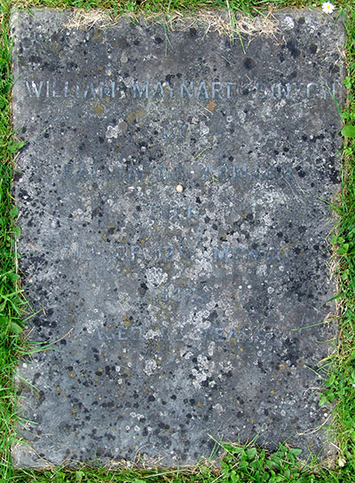 Headstone of William Maynard Sinton 1860 - 1942