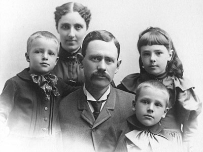 George Sinton and family